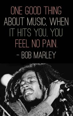 Bob Marley Quotes from his music and songs about love and life. These quotes by Bob Marley will uplift your mind and spirit! The Words, I Love Music, Music Is Life, Motivacional Quotes, Cover Quotes, Qoutes, Deep Quotes, People Quotes, Famous Quotes