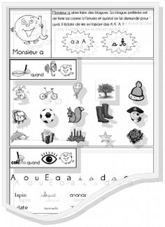 Fiches exercice Alpha phono et écriture French Class, Teacher Hacks, Ms Gs, Montessori, Alphabet, Homeschool, Coding, Education, Images