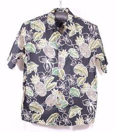 Cooke Street Honolulu Size 2XL XXL Hawaiian Aloha Loud Shirt Pineapple Floral  #CookeStreet #Hawaiian