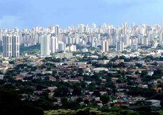 Cidade de Goiânia - Goiás - Turismo e Cultura no Brasil