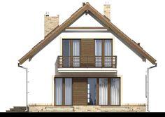 DOM.PL™ - Projekt domu ARN Tamarillo 3 CE - DOM RS1-74 - gotowy koszt budowy Home Fashion, House Styles, Home Decor, Houses, Decoration Home, Room Decor, Home Interior Design, Home Decoration, Interior Design