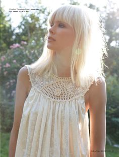 Dewi Driegen for Free People-platinum bleached shoulder length- bangs fringe