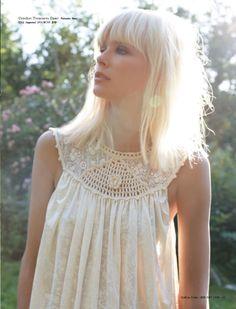 Dewi Driegen for Free People-platinum bleached shoulder length- bangs fringe