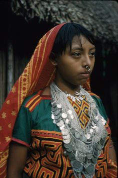 Columbia | Kuna woman. Chocó; Unguia; Arquía.  1960/61 | ©Brian Moser / Donald Tayler