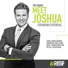 Meet Top Agent Joshua Moreno, expanding potential! Learn more about Joshua: resf.com/joshua-moreno