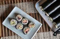 Phase 1: Nori Rolls with Sticky Brown Rice