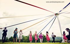Maypole - Wedding of Charlie and James by Andrew J R Squires Photography