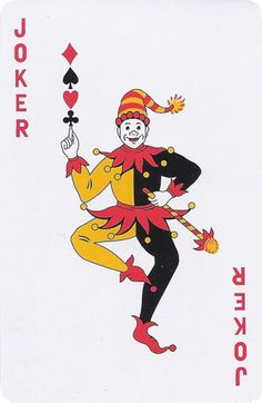 Joker of the Day Unique Playing Cards, Playing Cards Art, Joker Art, Batman Art, Joker Card Tattoo, Wicked Jester, Jester Tattoo, Joker Kunst, Joker Playing Card