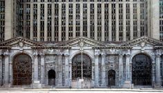 en Detroit Estación Central de Michigan