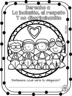 School Classroom, Classroom Decor, Preschool Friendship, Back 2 School, Learning Spanish, Cute Drawings, Elementary Schools, Coloring Pages, Clip Art