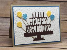Klompen Stampers (Stampin' Up! Demonstrator Jackie Bolhuis): Celebrating Birthdays