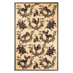 I pinned this Poulet Rug from the Style Study event at Joss and Main!
