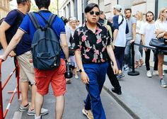 Phil Oh's Best Street Style from the Paris Spring '18 Menswear Shows