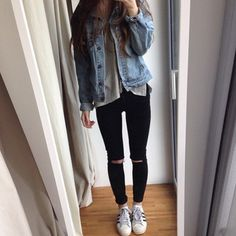 jeans black cute skinnyjeans coat