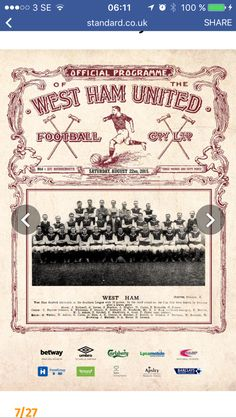 West Ham United Fc, The Unit, Cards, Maps, Playing Cards