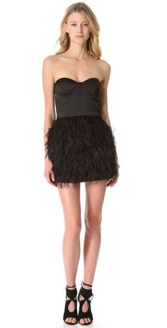 Ashlees Loves: I die for feathers! BUY @ashleesloves.com #feathers #feather-dress #fashion #style