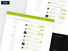 Freebie: Foodading Website Design by Moch Ramdhani Pratama