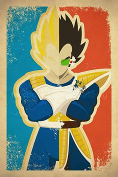 Vegeta by artofdanny on Etsy