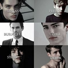 ♡ Shadow Falls boys ♡  Aka hottest boys ever, they're actually all perfect I want them all.