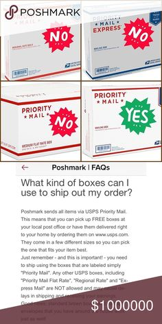 Can you drop a small flat rate box in a blue USPS dropbox ...