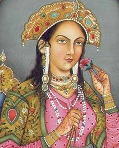 June 17th, 1631 - Mumtaz Mahal, wife of Shah Jahan of India, her tomb (Taj Mahal) died at 38. She died in Burhanpur in the Deccan (now in Madhya Pradesh) during the birth of their fourteenth child, a daughter named Gauhara Begum. Her body was temporarily buried at Burhanpur in a walled pleasure garden known as Zainabad