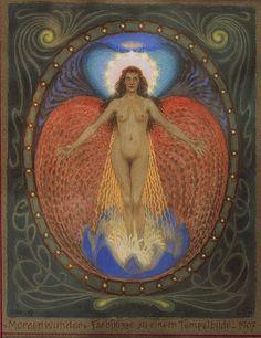 Morning Miracle, 1907. German by Fidus (Hugo Reinhold Karl Johann Höppener)