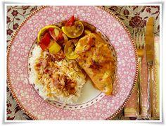 Villa Rosa's chicken - At home with Sofia