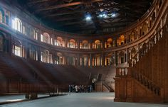 Teatro Farnese, Parma (Italy). www.italianways.com/parmas-indissoluble-bond-with-music-teatro-farnese/