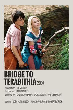 Alternative Minimalist Movie/Show Polaroid Poster - Bridge to Terabithia - illustrations Iconic Movie Posters, Minimal Movie Posters, Iconic Movies, Film Polaroid, Polaroids, Titanic Film, Image Emotion, Film Maker, Poster Minimalista