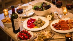 The custom of tapas is another global example of how the light meal of the day has evolved into a social grazing with family and friends on a wide variety of dishes.