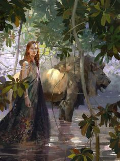 Lion Lady by Jaime Jones