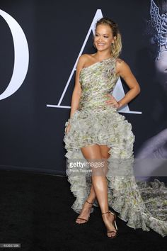Singer-songwriter/actress Rita Ora attends the premiere of Universal Pictures' 'Fifty Shades Darker' at The Theatre at Ace Hotel on February 2, 2017 in Los Angeles, California.