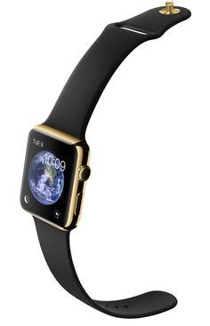 La montre Apple Watch Edition en or http://www.vogue.fr/vogue-hommes/montres/diaporama/la-montre-apple-watch-edition-en-or/19143/carrousel#4