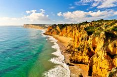 Coast of Lagos with Rocks and Cliffs iStock_000045338764_Large-2