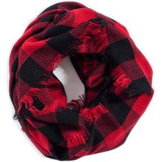 Lady Lumberjack Scarf ($18) ❤ liked on Polyvore featuring accessories, scarves and 32. miscellaneous accessories.
