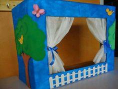 Teatrín para el aula de clases - Preescolar