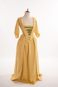 The Working Woman's Linen Dress or Undress by by HandBoundCostumes