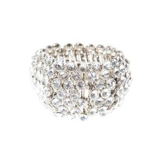 Pulsera strass de The Dressroom found on Polyvore
