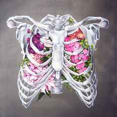 Check out these flowery organs from the talented @trishathompsonadams