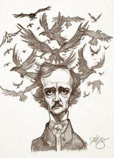 """""""Lord of the Ravens"""" Boceto a lapiz, con la intención de colorearla cuando tenga tiempo. ;)"""