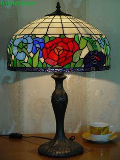 Rose Tiffany Lamp 16S0-188T311