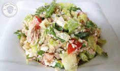 Thunfisch Salat   FITNESS-DESSERT.DE
