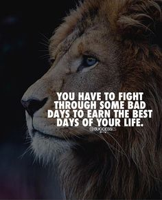 You have to fight through some bad days to earn the best days of your life. Motivational Quotes For Success, Meaningful Quotes, Positive Quotes, Inspirational Quotes, Self Love Quotes, Strong Quotes, Best Quotes, Lucky Quotes, Awesome Quotes