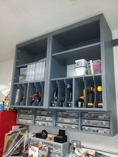 What About Tool Garage Organization? Some folks use their garages as work areas while some employ the excess space as storage for all sorts of stuff. If you own a garage, ensure that your car fits in it. A garage… Continue Reading → Garage Organization Tips, Diy Garage Storage, Shed Storage, Tool Storage, Storage Ideas, Storage Hacks, Storage Shelving, Shelving Units, Smart Storage