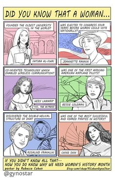 Great women throughout history