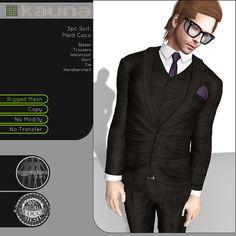 Kauna - 3pc Suit Plaid Coco - Vendor by Ross Myhre, via Flickr