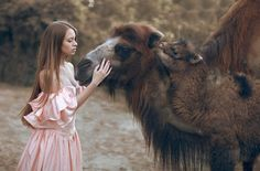 Russian Photographer Takes Stunning Portraits With Real Animals - Imgur