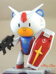 Gundam Petit'Gguy Zeta White Red Blue | Custom | Mash-Up