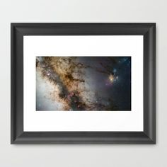 Sagittarius Framed Art Print by Planet Prints - $31.00