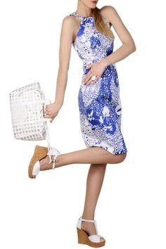 LOLA JEANETTE CITY Pencil Dress - CLOTHING   DRESSES   Knee Length   PRET-A-BEAUTE.COM